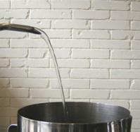 改造後 お湯を最大に出したとき1−2