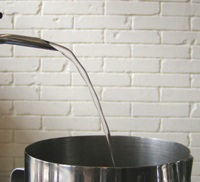 改造前 お湯を最大に出したとき1−1